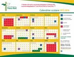 Changements au calendrier/Changes to the calendar